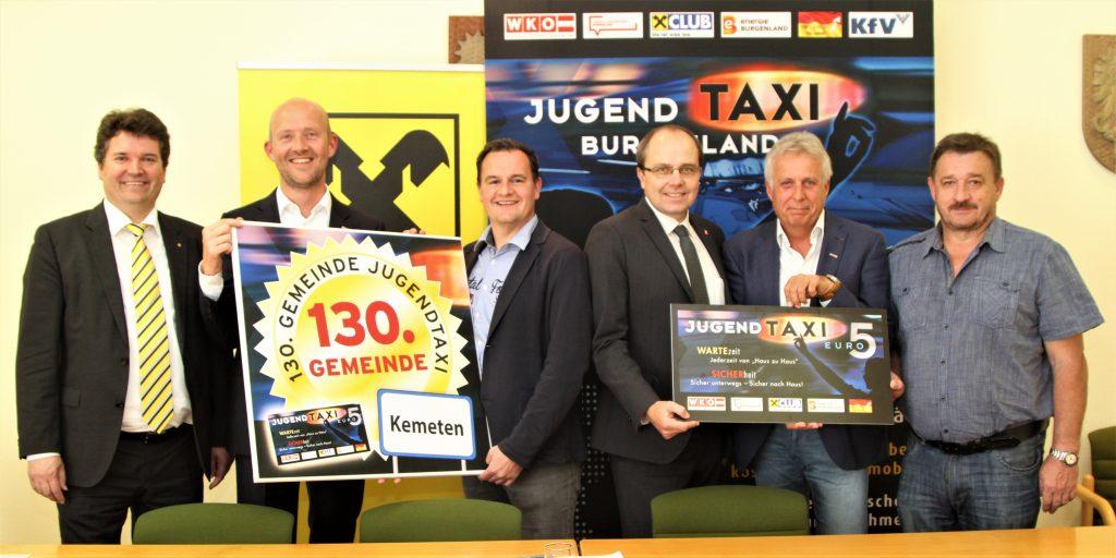 """Schon 130 Gemeinden setzen auf das """"Jugendtaxi""""!"""